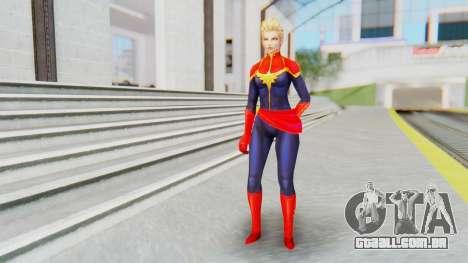 Marvel Future Fight - Captain Marvel para GTA San Andreas segunda tela