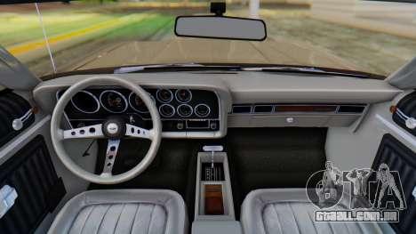 Ford Gran Torino Sport SportsRoof (63R) 1972 PJ2 para GTA San Andreas vista direita