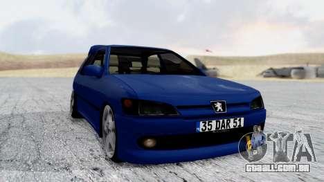 Peugeot 306 para GTA San Andreas vista direita