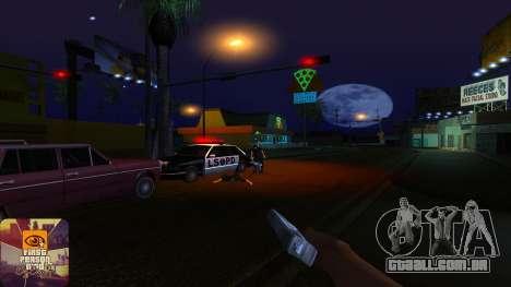 A primeira pessoa v3.0 para GTA San Andreas sétima tela