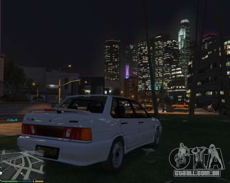 GTA 5 VAZ 2115 vista lateral direita