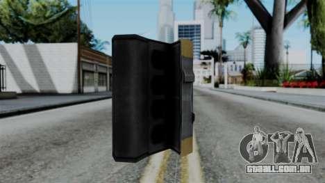 CoD Black Ops 2 - Galvaknuckles para GTA San Andreas segunda tela