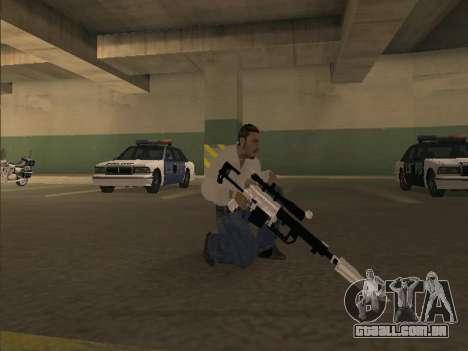 Silent Aim v6.0 para GTA San Andreas segunda tela