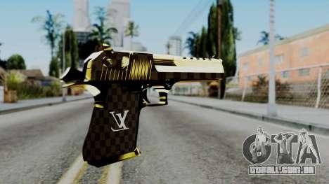 Deagle Louis Vuitton Version para GTA San Andreas segunda tela