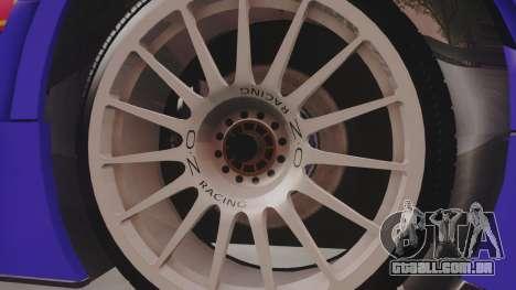 Audi A4 2008 DTM para GTA San Andreas vista traseira