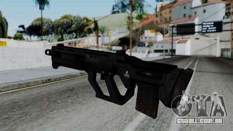 CoD Black Ops 2 - SMR para GTA San Andreas segunda tela