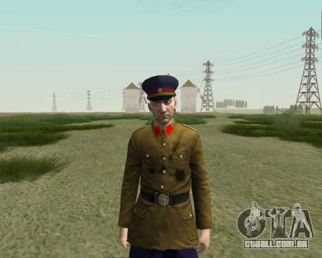 A coleção de Soldados do exército vermelho para GTA San Andreas oitavo tela
