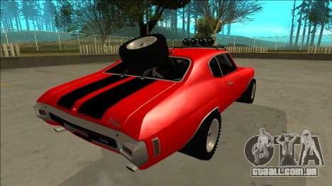 Chevrolet Chevelle Rusty Rebel para o motor de GTA San Andreas