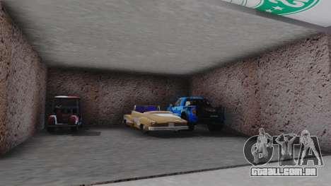 New Garage in San Fierro para GTA San Andreas quinto tela