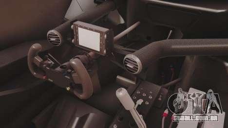 Audi A4 2008 DTM para GTA San Andreas vista interior