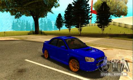 Subaru Impreza WRX STI Spec-C para GTA San Andreas