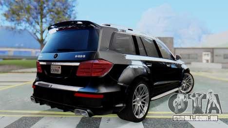 Brabus B63S para GTA San Andreas esquerda vista