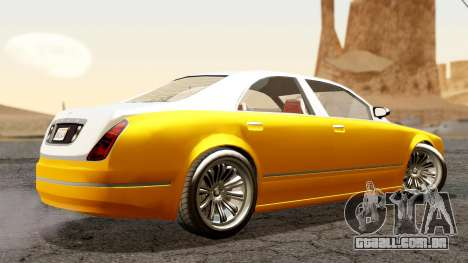 GTA 5 Enus Cognoscenti 55 para GTA San Andreas esquerda vista