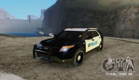 Ford Explorer Police para GTA San Andreas
