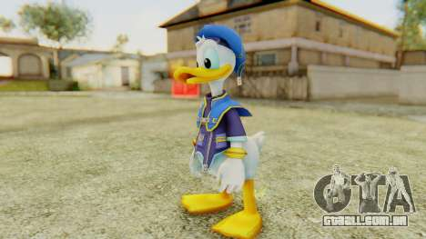 Kingdom Hearts 2 Donald Duck Default v1 para GTA San Andreas segunda tela