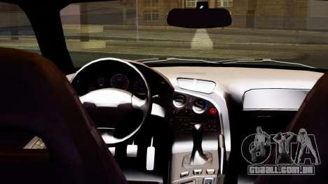 Mazda RX-7 Itasha para GTA San Andreas vista direita