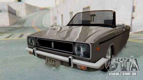 Peykan 80 Spyder para GTA San Andreas vista direita