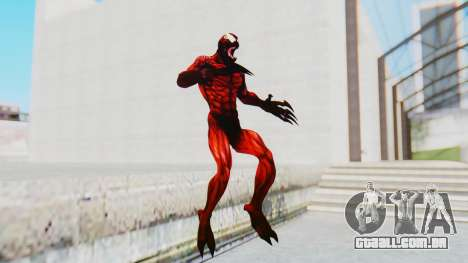 The Amazing Spider-Man 2 Game - Carnage para GTA San Andreas segunda tela