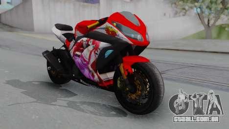 Kawasaki Ninja FI Custom Rias Gremory Itasha para GTA San Andreas
