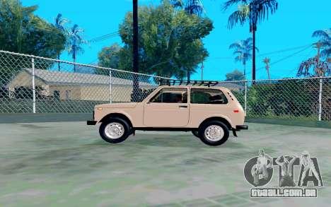 VAZ Niva para GTA San Andreas esquerda vista