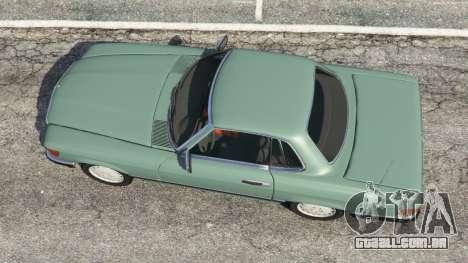 GTA 5 Mercedes-Benz 350 SL (R107) voltar vista