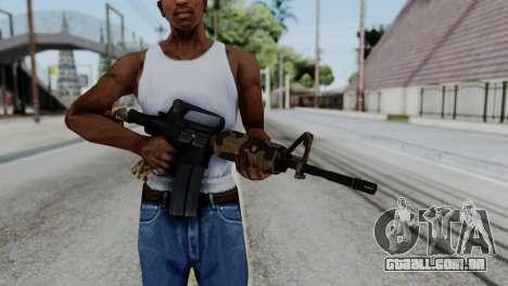 M16 A2 Carbine M727 v2 para GTA San Andreas terceira tela