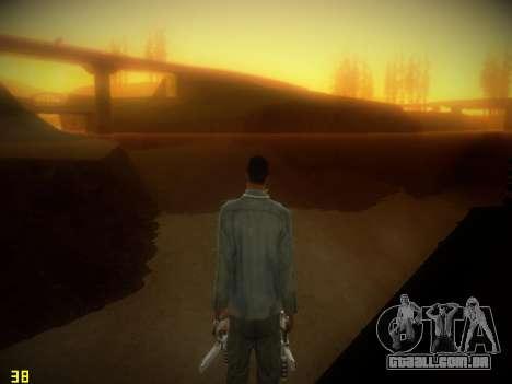 A seguir ENB V1.4 para baixo PC para GTA San Andreas por diante tela