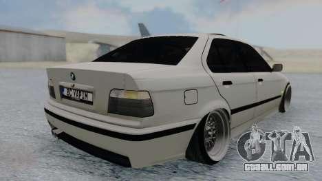 BMW 3-er E36 para GTA San Andreas esquerda vista