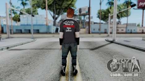 Sheamus Casual para GTA San Andreas terceira tela
