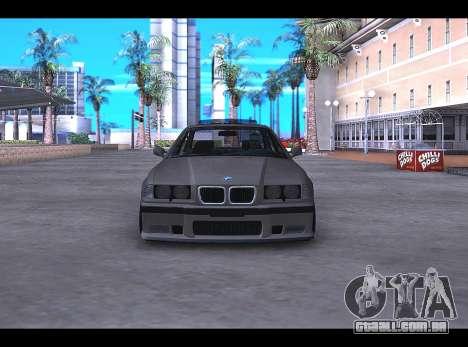 BMW E36 para GTA San Andreas esquerda vista