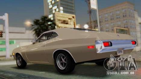 Ford Gran Torino Sport SportsRoof (63R) 1972 PJ2 para GTA San Andreas esquerda vista