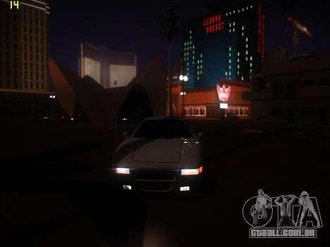 A seguir ENB V1.0 por meio do PC para GTA San Andreas por diante tela