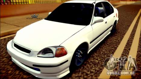 Honda Civic by Snebes para GTA San Andreas