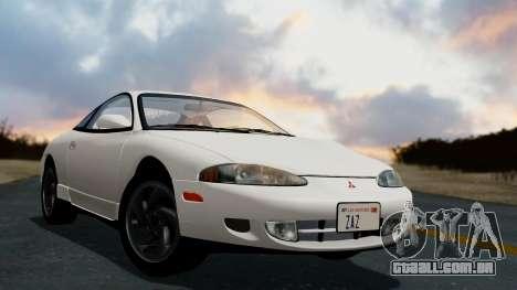 Mitsubishi Eclipse GST 1995 para GTA San Andreas esquerda vista
