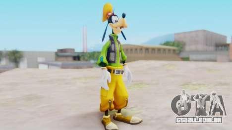 Kingdom Hearts 2 Goofy Default para GTA San Andreas segunda tela