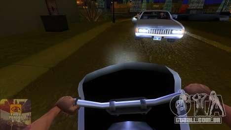 A primeira pessoa v3.0 para GTA San Andreas terceira tela