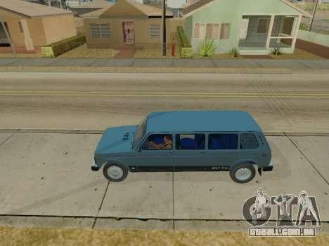 ВАЗ 2131 7-porta [HQ Versão] para GTA San Andreas esquerda vista