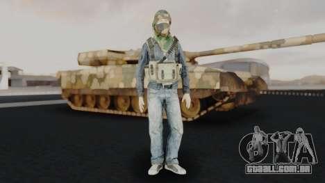 Somalia Militia Woodland Camo para GTA San Andreas segunda tela