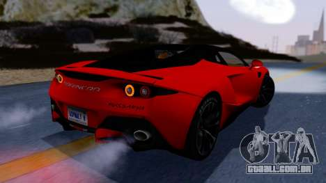 Arrinera Hussarya v2 Carbon para GTA San Andreas esquerda vista