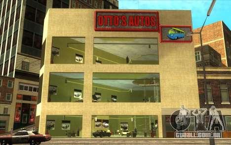 O renascimento da concessionária de carros Ottos para GTA San Andreas