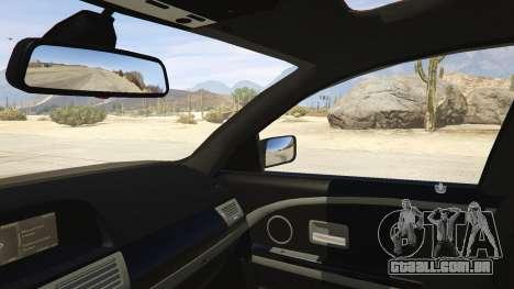 GTA 5 BMW 760i E65 traseira direita vista lateral