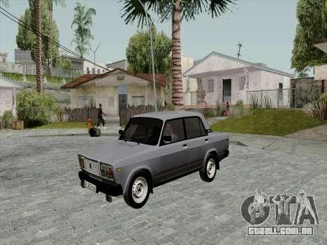 Ваз 21074 Bege Beleza v2 para GTA San Andreas