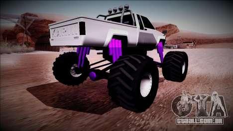 GTA 5 Karin Rebel Monster Truck para GTA San Andreas esquerda vista