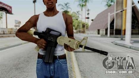 M16 A2 Carbine M727 v3 para GTA San Andreas terceira tela