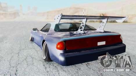 ZR-350 Stance para GTA San Andreas esquerda vista