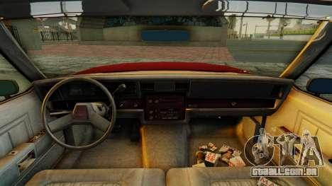 Chevrolet Impala 1984 para GTA San Andreas vista traseira