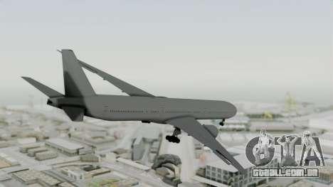 Boeing 777-9x Paintkit para GTA San Andreas esquerda vista