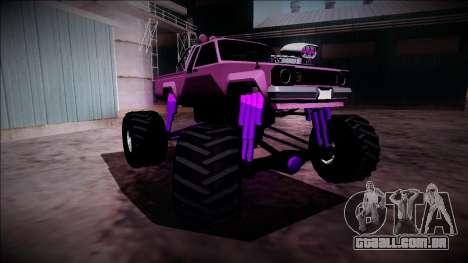 GTA 5 Karin Rebel Monster Truck para GTA San Andreas vista superior