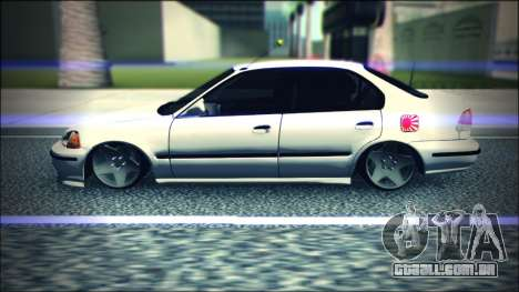 Honda Civic by Snebes para GTA San Andreas esquerda vista