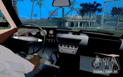 VAZ Niva para GTA San Andreas vista traseira
